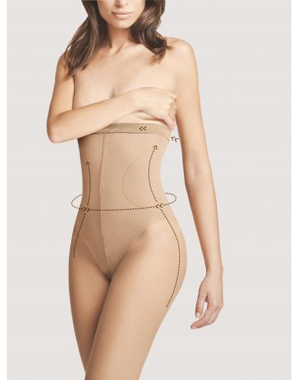 Pėdkelnės Fiore High waist bikini 20 denų
