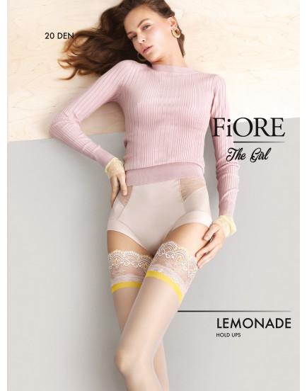 Prilimpančios kojinės Fiore Lemonade 20 denų