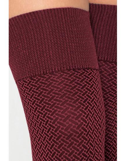 Ilgos kojinės Gatta Sassimi 01 rožinės 50 denų.