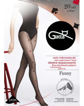 Pėdkelnės Gatta Funny 09A 20 denų