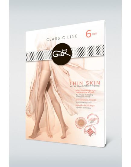 Plonos pėdkelnės Gatta Thin Skin 6 denai