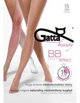 Pėdkelnės Gatta Beauty BB creme effect 15den