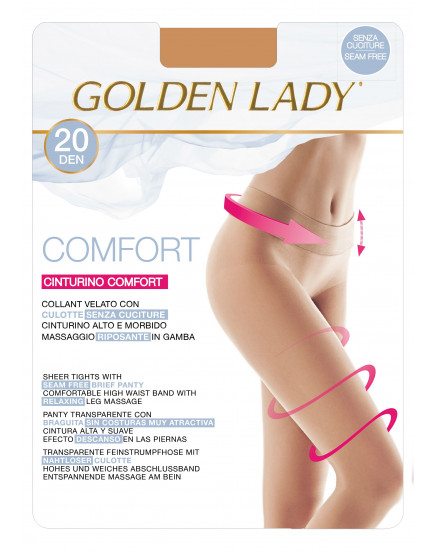 Pėdkelnės Golden Lady Comfort 20 denų
