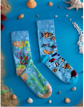 Unisex kojinės Akvariumas