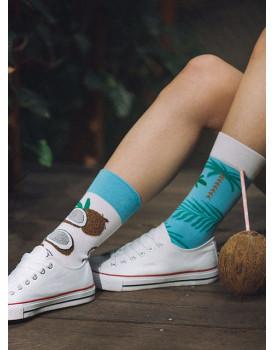 Unisex kojinės Kokosai