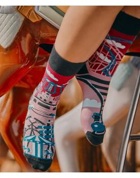 Unisex kojinės Atrakcionai