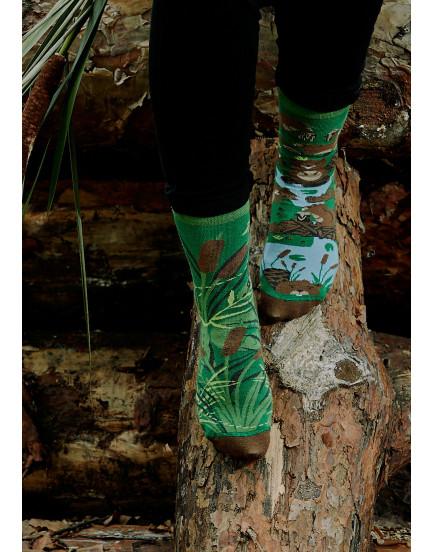 Unisex kojinės Bebrai