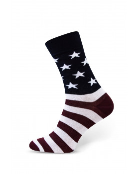 """Vyriškos kojinės """"Amerikos vėliava"""""""