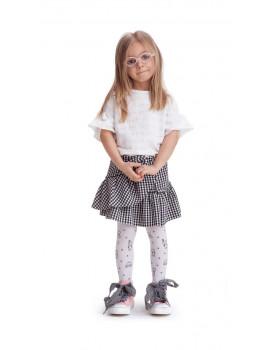 Pedkelnės mergaitėms Knittex Teddy 40 denų